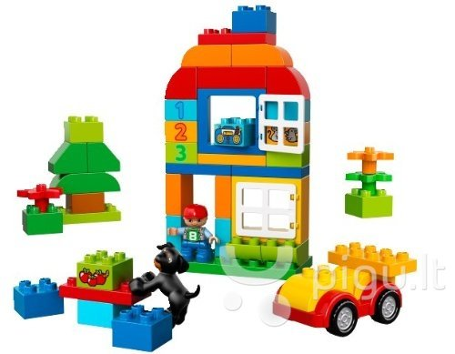 10572 LEGO® DUPLO All in One box for Fun kaina