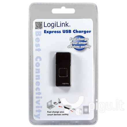LogiLink - Ładowarka USB 'express charger' kaina