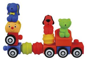 Traukinuko rinkinys K's Kids iš 13 dalių