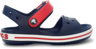 Crocs™ basutės Crocband Sandal, Navy / Red