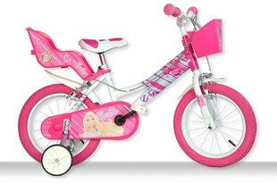 """Mergaičių dviratukas Dino bikes Barbie 16"""", 166R-BAB"""