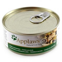 Konservai Applaws Cat Tuna Fillet with Seaweed, 156 g