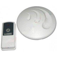 Belaidis vienos melodijos skambutis, apvalus SKAMBBELAIDAPV kaina ir informacija | Durų skambučiai, domofonai, akutės, kameros | pigu.lt