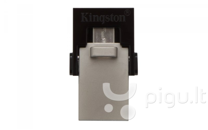 Atmintinė Kingston DT microDuo 64 GB, microUSB, USB 3.0