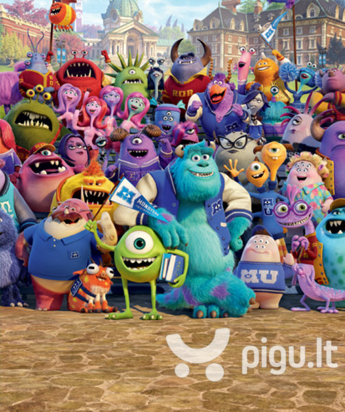 Vaikiški tapetai Disney Monsters University