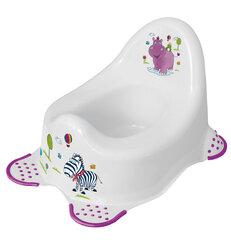 "Детский горшок Prima Baby ""Hippo"" 8648, белый"