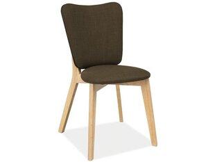 2-jų kėdžių komplektas Montana, ąžuolo/rudos spalvos