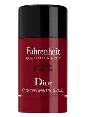 Pieštukinis dezodorantas Dior Fahrenheit vyrams 75 ml