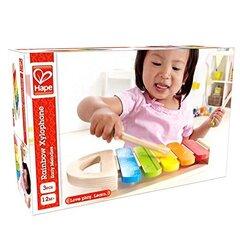 Metalofonas vaivorykštės spalvų Hape art. E0302 kaina ir informacija | Žaislai kūdikiams | pigu.lt