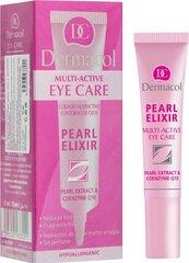Paakių kremas Dermacol Pearl Elixir Multi Active Gold 15 ml