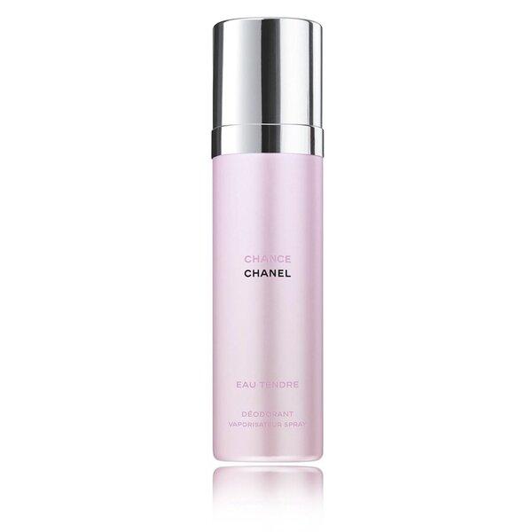 Purškiamas dezodorantas Chanel Chance Eau Tendre moterims 100 ml