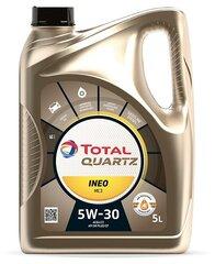 TOTAL Quartz INEO MC 3 5W-30 variklių alyva, 5L kaina ir informacija | TOTAL Quartz INEO MC 3 5W-30 variklių alyva, 5L | pigu.lt