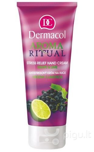 Rankų kremas Dermacol Aroma Ritual Grape & Lime 100 ml