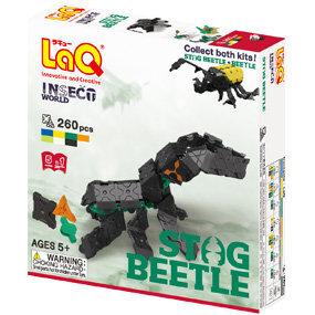 Japoniškas konstruktorius LaQ Insect World Stag Beetle