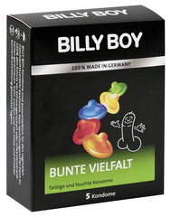 "Prezervatyvai ""Billy Boy Fun"", 5 vnt."