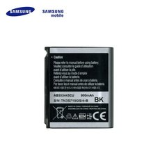 Samsung AB553443CE skirtas U700 L760 G800 Z650 Li-Ion 900mAh kaina ir informacija | Akumuliatoriai telefonams | pigu.lt