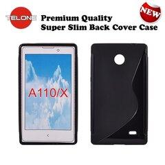 Apsauginis dėklas Telone skirtas Nokia X/Dual Sim, Juodas kaina ir informacija | Telefono dėklai | pigu.lt