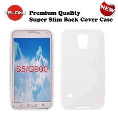 Apsauginis dėklas Telone skirtas Samsung Galaxy S5/S5 Neo (G900/G903/G903F), Baltas kaina ir informacija | Telefono dėklai | pigu.lt