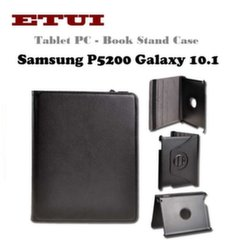 Etui Eco Leather Case with rotated stand Samsung P5200 Galaxy 10.1 Black