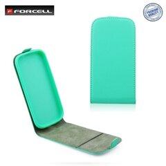 Atverčiamas dėklas Forcell Flexi Slim Flip skirtas Apple iPhone 6, Žalias