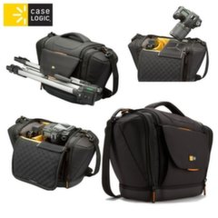 Case Logic SLRC203 Universal (Internal 20.5x13.5x22cm) DSLR Camera Case with shoulder strap Black