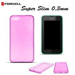 Forcell Ultra Slim 0.3mm Back Case Nokia 530 Pink kaina ir informacija | Telefono dėklai | pigu.lt