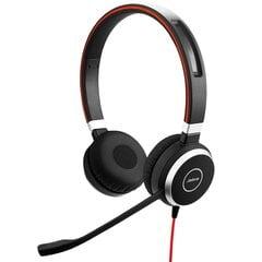 Laidinės ausinės Jabra Evolve 40 UC Stereo (6399-829-209) kaina ir informacija | Ausinės, mikrofonai | pigu.lt