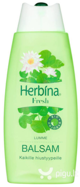 Balzamas normaliems plaukams Herbina Fresh 200 ml