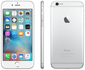 Apple iPhone 6 64GB, Sidabrinė
