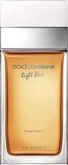 Tualetinis vanduo Dolce & Gabbana Light Blue Sunset in Salina EDT moterims 50 ml kaina ir informacija | Kvepalai moterims | pigu.lt