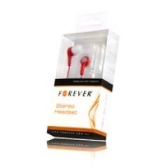 Universalios ausinės Forever, raudonos kaina ir informacija | Ausinės, mikrofonai | pigu.lt