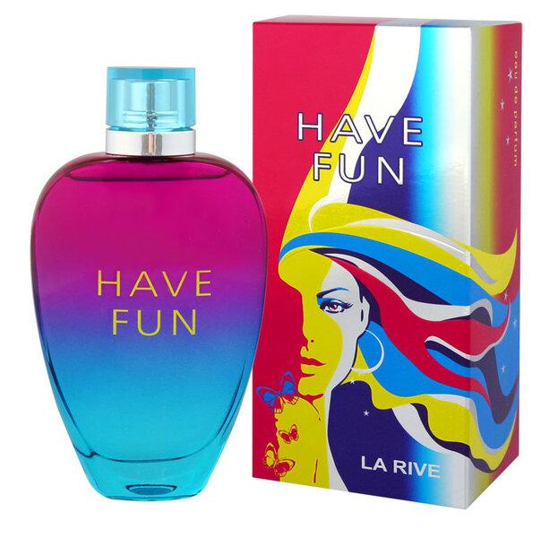 Kvapusis vanduo La Rive Have Fun EDP moterims 90 ml kaina
