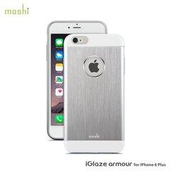 iGlaze Armour snap-on case for iPhone 6 Plus (Jet Silver) kaina ir informacija | Telefono dėklai | pigu.lt
