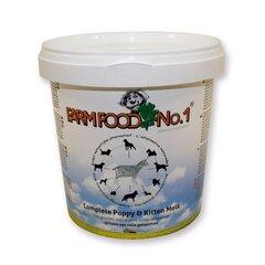 Farm Food Nr.1 sausas ožkos pienas šuniukams (kibirėlyje), 0,5 kg