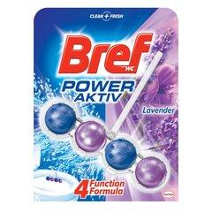 "WC valiklis-gaiviklis ""BREF Power Aktiv Lavender"" 50g kaina ir informacija | Valikliai | pigu.lt"