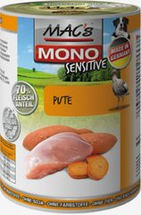 Mac's Mono Sensitive Turkey 800 g
