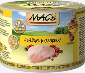 Mac's Poultry & Cranberry 200 g