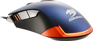 Cougar 550M- METALLIC BLUE kaina ir informacija | Pelės | pigu.lt