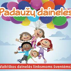 CD PADAUŽŲ DAINELĖS