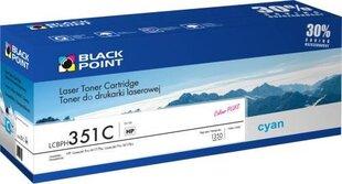 Toner cartridge Black Point LCBPH351C | cyan | 1350 pp. | HP CF351A kaina ir informacija | Kasetės lazeriniams spausdintuvams | pigu.lt