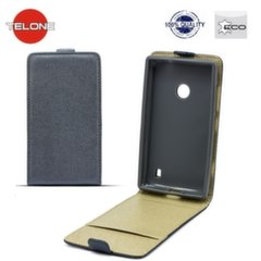 Telone Shine Pocket Slim Flip Case Samsung A800 Galaxy A8 vertical book case Grey