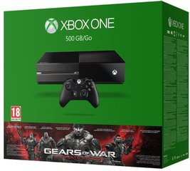 Microsoft Xbox One, 500 GB + Gears Of War: Ultimate Edition