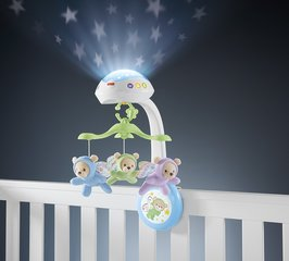 Muzikinė karuselė Fisher Price 3 in 1 Butterfly Dreams, CDN41