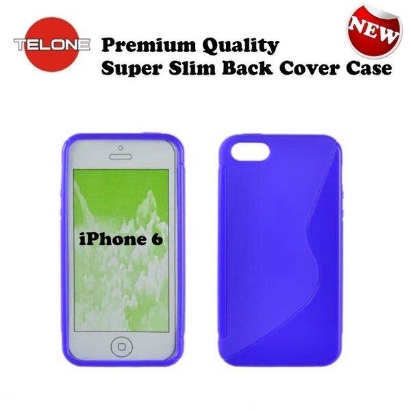 Apsauginis dėklas Telone skirtas Apple iPhone 6/6S, Mėlynas