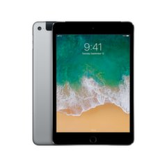 Apple iPad Mini 4 WiFi+Cellular (128GB), Pilka, MK762HC/A