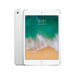 Apple iPad Mini 4 WiFi+Cellular (128GB), Sidabrinė, MK772HC/A