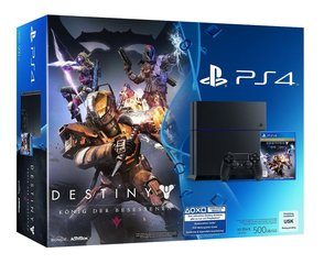 Sony PlayStation 4 (PS4), 500 GB + Destiny The Taken King