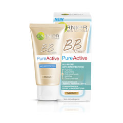 BB veido kremas Garnier Skin Naturals Pure Active 50 ml