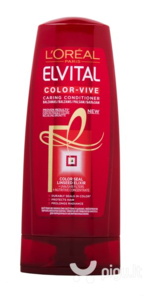 Kondicionierius dažytiems plaukams L'Oreal Paris Elvital Color-Vive 400 ml