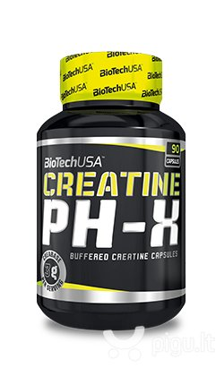 Biotech Creatine PH-X 90 kaps.